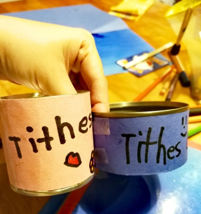Teaching Kids to Tithe