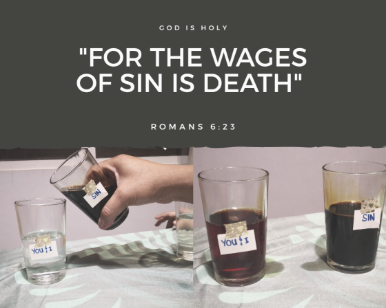 For the Wages of Sin is Death