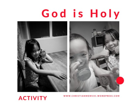 God is Holy 1